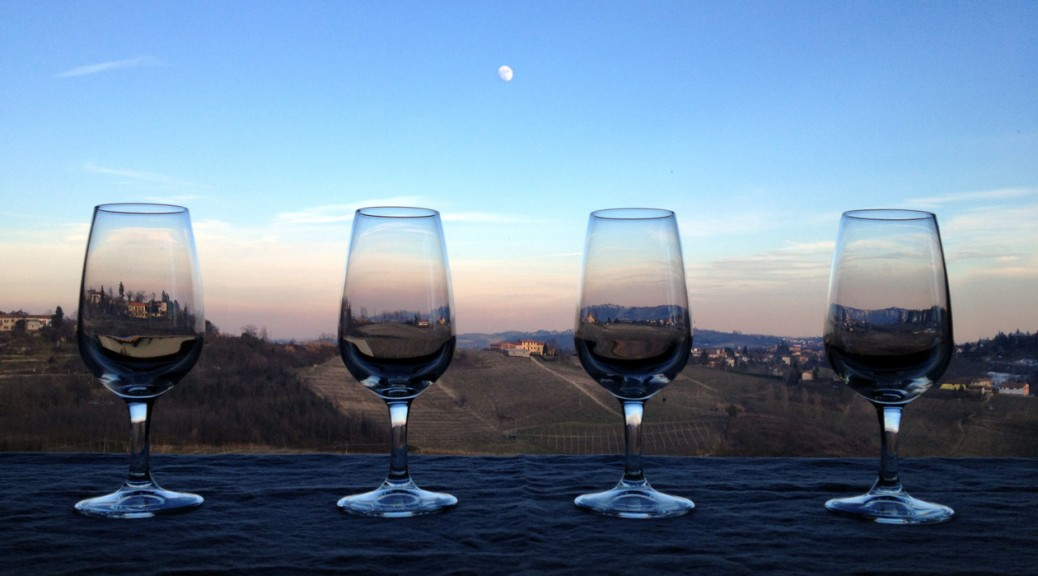 4 bicchieri alla Locanda degli Ultimi